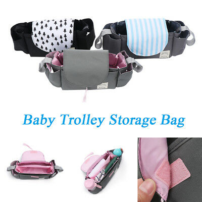 Baby Care Push Chair Case Cart Pouch Trolley Storage Bag Pram Buggy Organizer