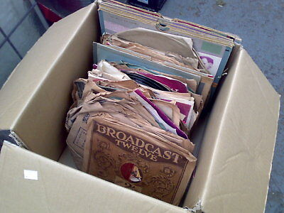 Job Lot collection of old LP records approx 100