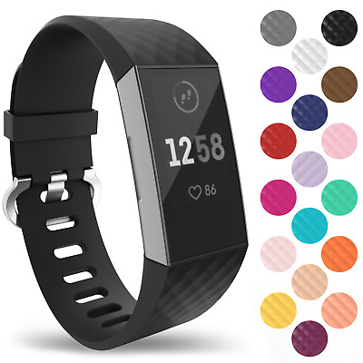 Fitbit Charge 3 Wrist Straps Wristbands, Best Replacement Accessory Watch Bands