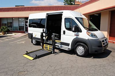 2015 Ram H-Cap 2 Pos. VERY NICE HANDICAP ACCESSIBLE WHEELCHAIR LIFT EQUIPPED VAN....UNIT# 2214FT