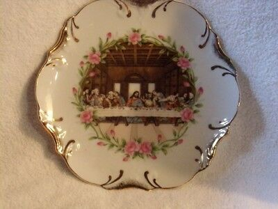 Decorative Lords Supper Plate