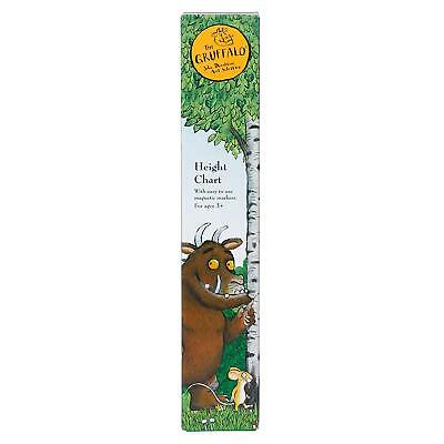 The Gruffalo Children's Height Chart with Magnetic Markers