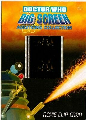 Dr Doctor Who Big Screen Additions Movie Clip Card /N - The Black Dalek