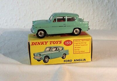 Alter Dinky Toys Ford Anglia Sehr gut /Boxed,1:43 -#155