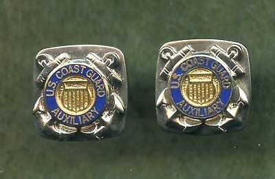 Vintage ~ Coast Guard Auxiliary Cuff Links (New)
