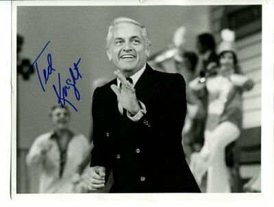 Ted Knight signed autograph NO RESERVE B5452