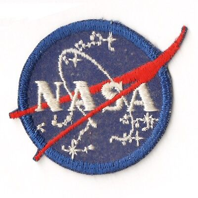 NASA Embroidered Sew-on Patch