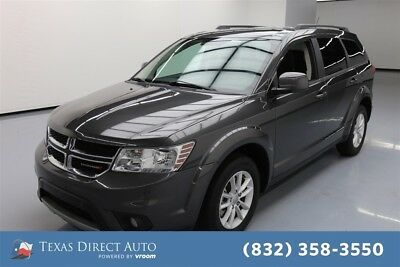 2017 Dodge Journey SXT Texas Direct Auto 2017 SXT Used 3.6L V6 24V Automatic FWD SUV Premium