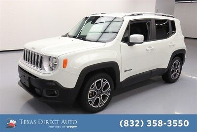 2016 Jeep Renegade Limited Texas Direct Auto 2016 Limited Used 2.4L I4 16V Automatic FWD SUV Premium