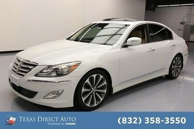 2013 Hyundai Genesis 5.0L R-Spec Texas Direct Auto 2013 5.0L R-Spec Used 5L V8 32V Automatic RWD Sedan Premium