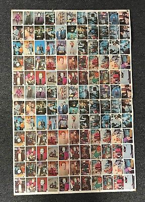 Vintage 1966 Topps BATMAN Bat Laffs Uncut Sheet w/ (132) Cards Joker + Robin