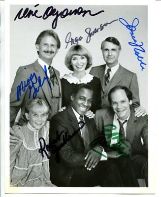cast of all 6 Benson signed autograph NO RESERVE B5510