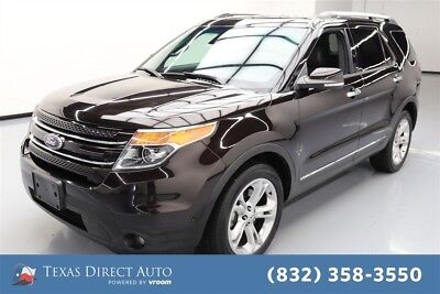 2013 Ford Explorer Limited Texas Direct Auto 2013 Limited Used 3.5L V6 24V Automatic 4WD SUV