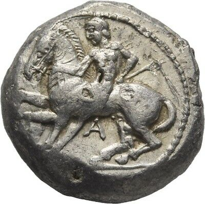 Lanz Greek Cilicia Kelenderis Goat Horse Youth Ethnic Ivy Stater Silver ±Tez1689