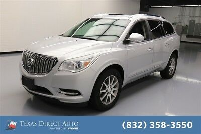 2016 Buick Enclave Leather Texas Direct Auto 2016 Leather Used 3.6L V6 24V Automatic FWD SUV Bose Premium