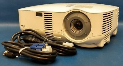 NEC VT700 3 LCD Multimedia Projector 3000 Lumens 500:1 720p, 1090 Lamp Hours