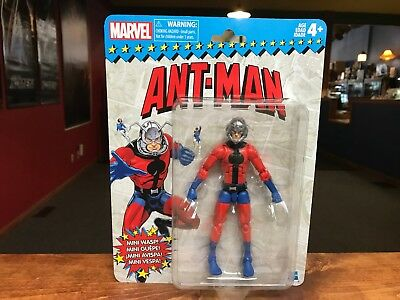 "2018 Hasbro Marvel Legends Vintage Retro Style 6"" ANT-MAN Figure MOC - IN STOCK"