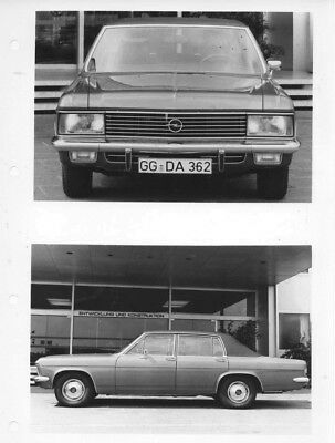 1970 Opel Admiral ORIGINAL Factory Photo oac0731