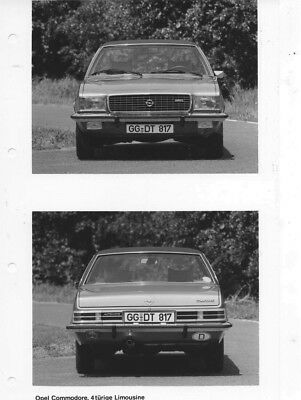 1969 Opel Commodore 4 Door Sedan ORIGINAL Factory Photo oac0758