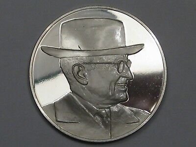 1973 Franklin Mint Truman Sterling Silver Round. 25.9 g.  #20