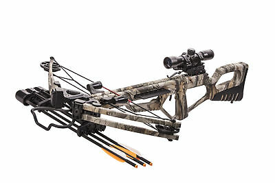 New Bear X Kronicle Crossbow Illuminated Scope Package 370 fps 185 lbs A8TVEXG