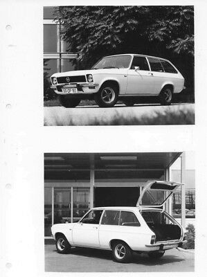 1973 Opel Ascona Voyage L ORIGINAL Factory Photo oac0824