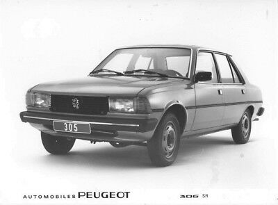 1980 Peugeot 305 SR ORIGINAL Factory Photo oac0842