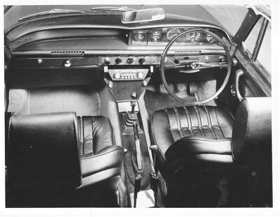 1970 Rover 3500 S Interior Front ORIGINAL Factory Photo oac0893