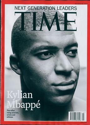 European Time Magazine Kylian Mbappe Cover Story - October 22 2018