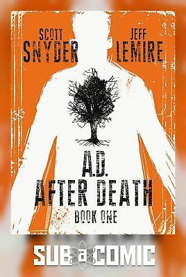 AD AFTER DEATH BOOK 01 (IMAGE 2016 1st Print) COMIC
