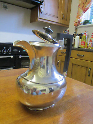 Superb Old Antique Victorian Silver Plate Tea Pot made in England c1890 No.8336