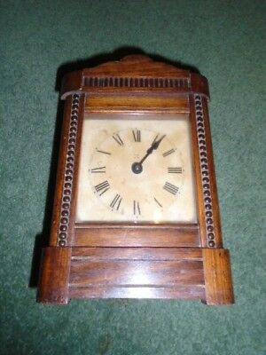 EDWARDIAN MANTLE CLOCK - Working condition (with chime)