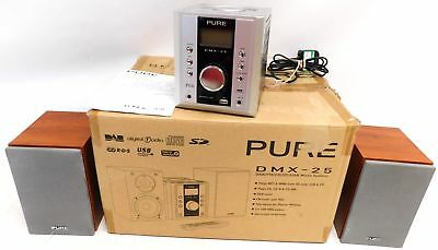 PURE DMX-25 DAB/FM/CD/SD/USB Micro System with MP3 & WMA Playback - C91