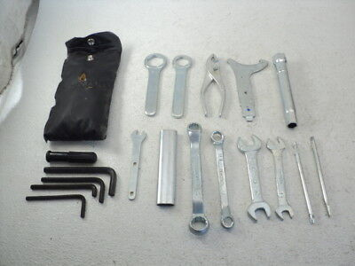 Honda GL 1500 GL1500 Valkyrie Tourer #8565 OEM Toolkit / Tool Kit with Pouch