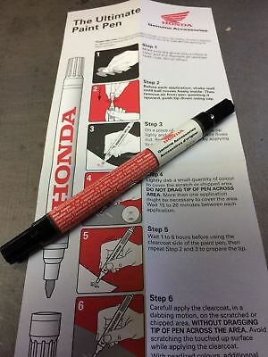 Honda OEM Touch Up Pen Motorcycle NH326P Pearl White
