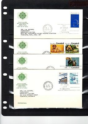 1972-1973  10 FDC's
