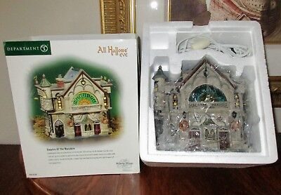 Dept 56 Dickens' Village-Theatre Theater Of The Macabre-All Hallows' Eve-Nib