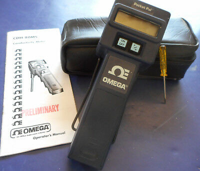 OMEGA ENGINEERING CDH-80MS Conductivity Meter * Pocket Pal