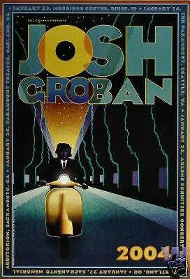 JOSH GROBAN POSTER Original Bill Graham  BGP317 West Coast Tour 2004