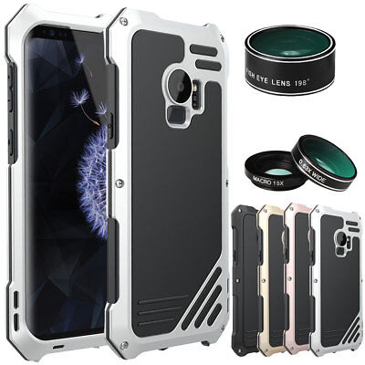 Waterproof Protective Case Cover For Samsung Galaxy S9 / S9+ Plus with 3 Lens