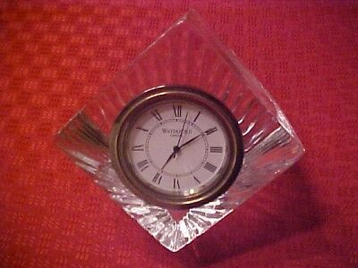 Waterford Desk Clock - Chief Scout Executive Jere B. Ratliff