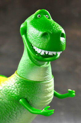 Disney Pixar's Toy Story Large Rex Action Figure, Thinkway Toys Dinosaur T-Rex