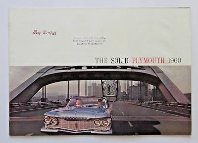 *Pick one* 1958 1960 1965 1966 1969 Original Plymouth Sales Brochure *You pick*