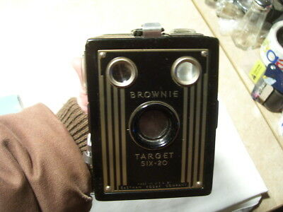 Vintage Kodak Brownie Target Six -20 Box Camera
