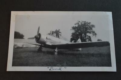 Vintage 1949 Photo Northrup A-17 WWII Trainer Airplane 909043
