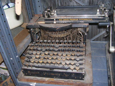 Antique RARE Smith Premier No. 2 Typewriter Early 1900's