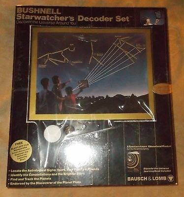 Bushnell Starwatcher's Decoder Set - New - Bausch & Lomb