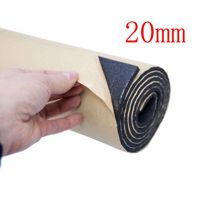 2Roll 20mm Car Sound Proofing Deadening Insulation Closed Cell Foam Noise