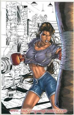 Witchblade 10Th Anniversary Virgin Variant Nm+ Ltd 100 Jay Company Top Cow
