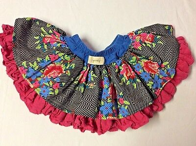 Boutique Persnickety Size 18 Months  Double Layer Super Twirly Skirt Euc